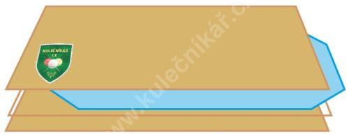 Tvrzené sklo na hrací plochu fotbálku + dřevěný obal