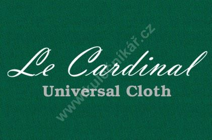 Cloth, cloth carom Le Cardinal - Green 165 cm