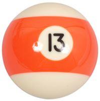 Náhradní koule pool standart jednotlivá č.13 - průměr 57,2mm