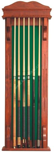 Wall hanging rack for 6 cues STANDARD