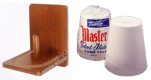 Holder sliding chalk MASTER - Velvet Slide Cone Talc