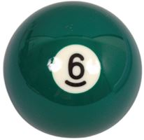 Spare ball pool single standard No.6 - diameter 57.2 mm