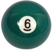 Spare ball pool single standard No.6 - diameter 57.2 mm