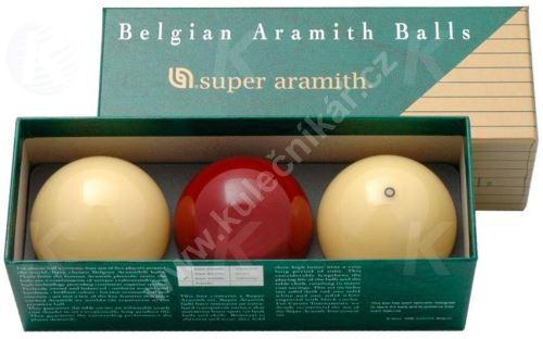 Karambolové koule SUPER Aramith Traditional 3, 61,5 mm