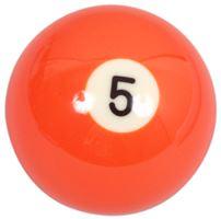 Náhradní koule pool standart jednotlivá č.5 - průměr 57,2mm