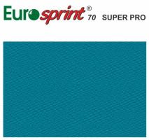 billiard pocket billiard cloth EUROSPRINT 70 SUPER PRO sky blue 198 cm