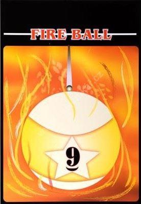 Kulečníkový plakát Fire Ball