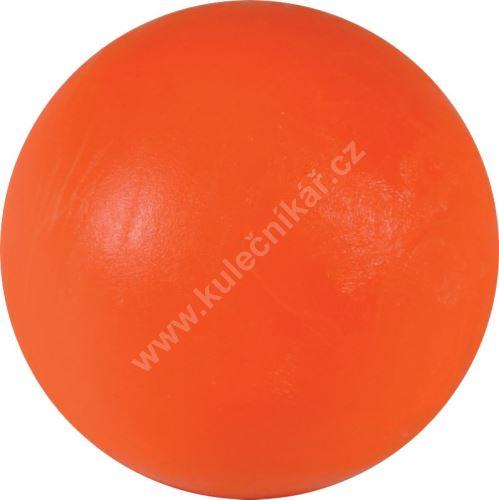 Soccer ball on the table - plastic orange 34 mm