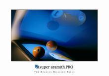 Aramith Billiard poster, Ball and monitor