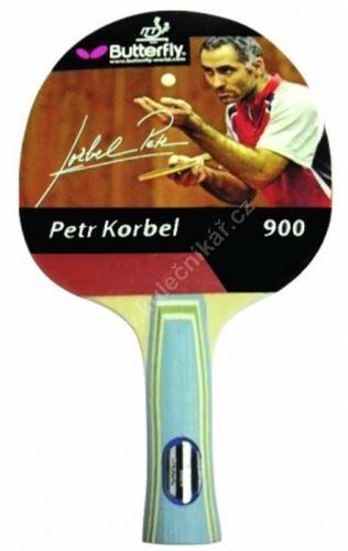 Pálka na stolní tenis  BUTTERFLY Korbel 900, konkávní