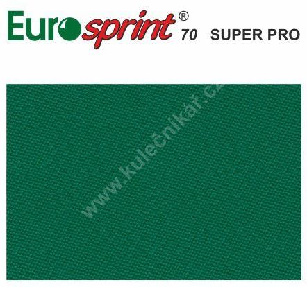 Billiard pocket billiard cloth EUROSPRINT 70 SUPER PRO Royal Blue 198 cm