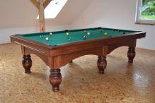 Kulečník PEGAS Pool Biliard 9ft, 6 nohou