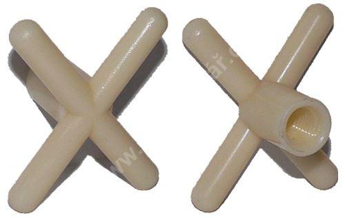 Můstek - podpěra na tágo plastová CROSS White