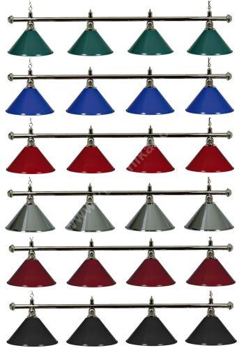 Kulečníková lampa Silver Elegant 4