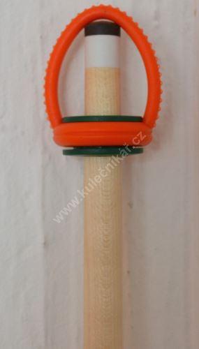 Gumova svěrka na lepení kůže, Karambol