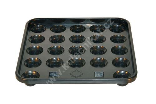 Tray rack for 22 balls snooker Koul 52.4 mm
