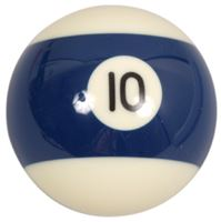 Spare ball pool single standard no.10 - diameter 57.2 mm