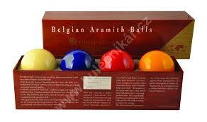 Karambolové koule SUPER Aramith Tournament 4, 61,5 mm