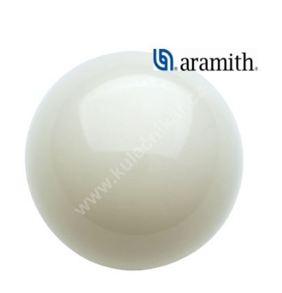 Koule Snooker Aramith, white 52,4 mm