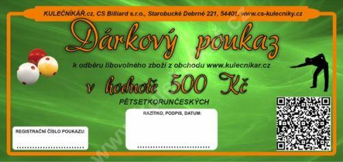 Gift Voucher CZK 500, -