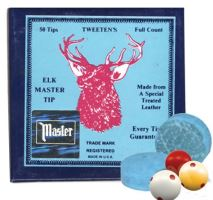 Kůže ELK MASTER cue tips 10 mm