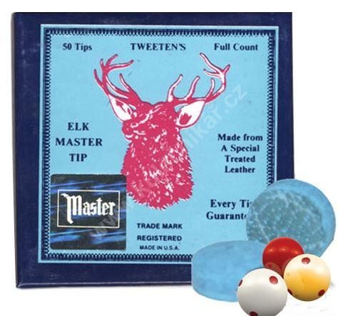 Kůže ELK MASTER 9 - 14 mm, cue tips