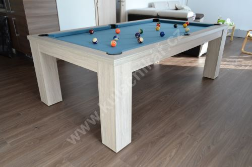 Pool billiard COMPACT DINNER - dining table