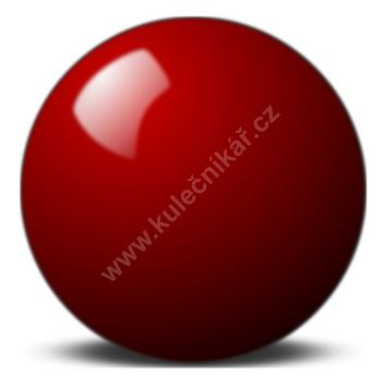 Červená koule Super Aramith 68 mm