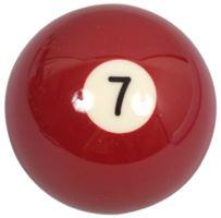 Náhradní koule pool standart jednotlivá č.7 - průměr 57,2mm