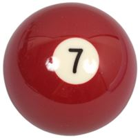 Spare ball pool standard single No.7 - diameter 57.2 mm