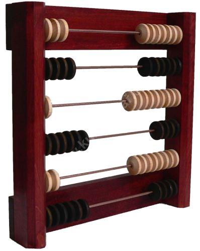 Billiard counter wall 6, Mahogany