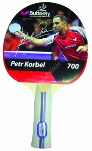 Pálka na stolní tenis  BUTTERFLY Korbel 700, konkávní