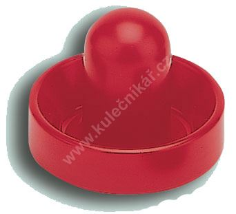Pusher - 72 mm small red (power air hockey)