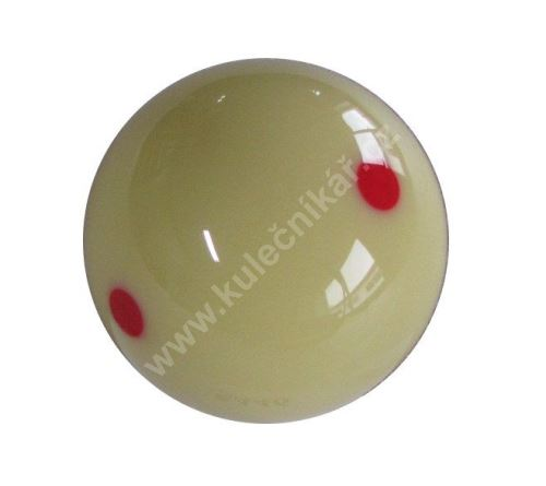 Spare white pool balls 57.2 mm EXHIBITION
