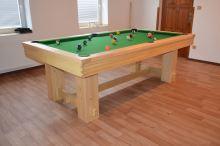 Kulečník pool billiard WESTERN 9ft, 6 nohou