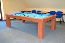 Billiards COMPACT DINNER 7 ft billiards pool, dining table