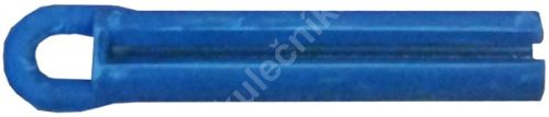 Puller for bonding leather cue - solid rubber blue