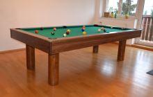 Kulečník pool billiard EMINENT 8ft, 3-břidlice