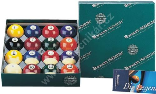 Billiard pool balls Aramith Premium - 57.2 mm