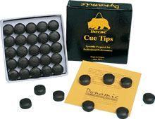 Lepená kůže BEAR cue tips, průměr 13mm