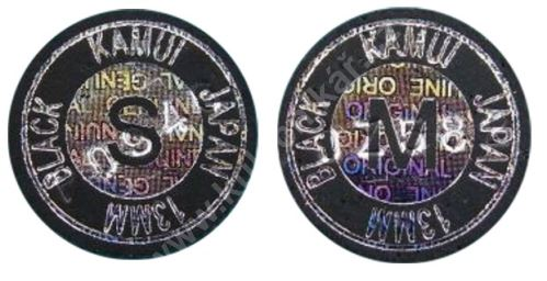 Vrstvená lepící kůže KAMUI Black 13 mm