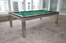 Kulečník pool billiard GENTLEMAN 9ft, nerez