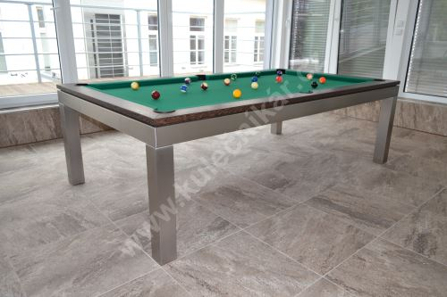 Nerezový kulečník pool billiard GENTLEMAN