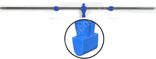 Rod for table football - 1 blue goalkeeper - soccer bars