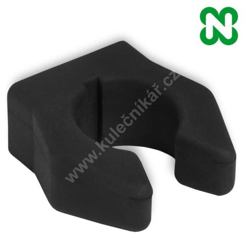Rubber mount cue clips