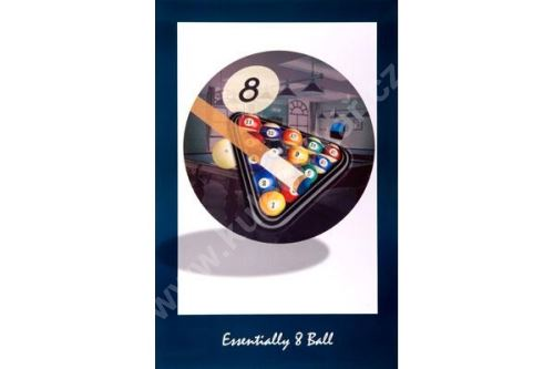 Billiard Poster - Ball + Triangle