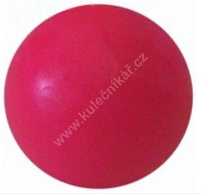 Soccer ball on the table - pink plastic 34 mm