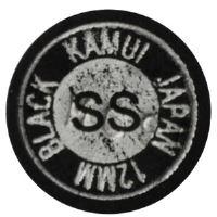 Vrstvená lepící kůže KAMUI Black 12 mm, Super Soft