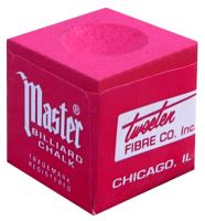 Chalk for billiard MASTER Chalk, red