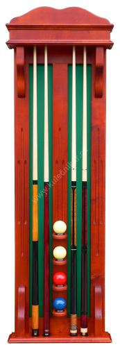 Wall-mounted rack STANDARD line in the 4 + 4 cue ball